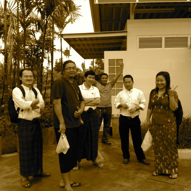 November 2012: First Kachin Life Stories Project Brainstorm and Coordination Meeting in Chiang Mai